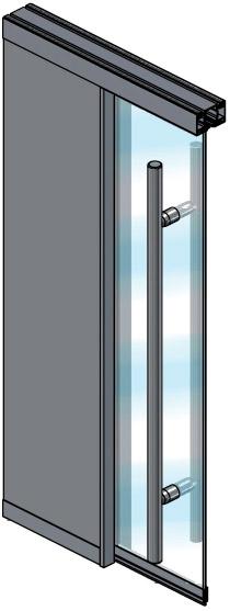 Extanza Double Panel Sliding Door