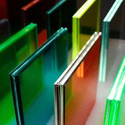 Coloured Laminated Glass